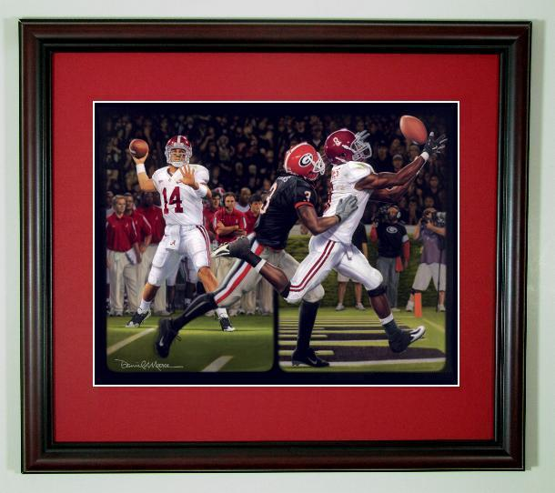 Alabama And Auburn Framed Prints Quot The Blackout
