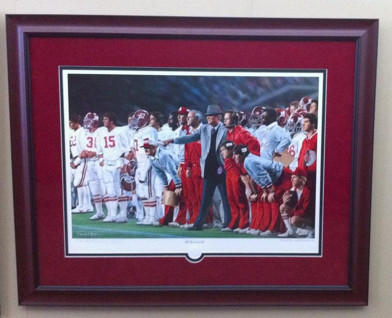 Prints By Deluxe: Alabama And Auburn Framed Prints